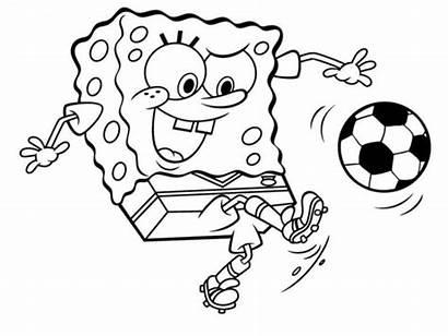 Gambar Spongebob Mewarnai Untuk Squarepants Diwarnai Kartun