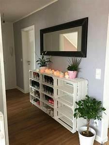Schuhschrank Aus Paletten : schuhschrank interieur pinterest regal m bel und einrichtung ~ Buech-reservation.com Haus und Dekorationen