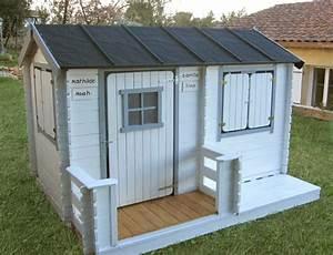 Cabane En Bois Enfant : cabane en bois fait maison ~ Dailycaller-alerts.com Idées de Décoration