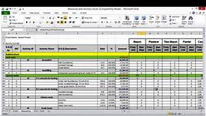 Resource forecasting excel template sampletemplatess for Resource forecasting excel template