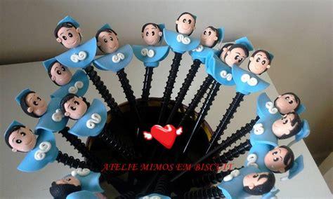 ponteira de lapis formando abc ateli 202 mimos em biscuit elo7