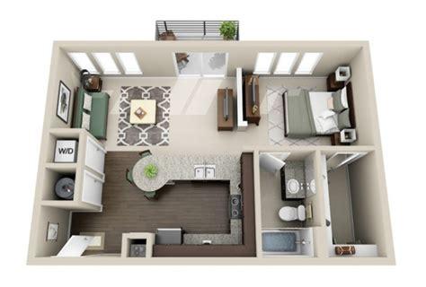 plan appartement 2 chambres 50 plans en 3d d appartement avec 1 chambres sims