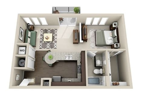 appartement 1 chambre plan 3d appartement 1 chambre 40