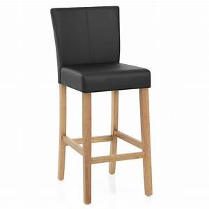 Chaise Bar Bois : chaise de bar simili cuir cornell monde du tabouret ~ Teatrodelosmanantiales.com Idées de Décoration