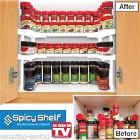 Spice Rack Organizer As Seen On Tv by Spicy Shelf As Seen On Tv