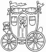 Carriage Coloring Pages Horse Drawn Princess Printable Drawing Colouring September Coloringbook4kids Mirror Zapisano Kid Sheets Getdrawings Getcolorings sketch template