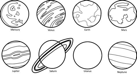 solar system clipart black and white pics for gt planets black and white clipart