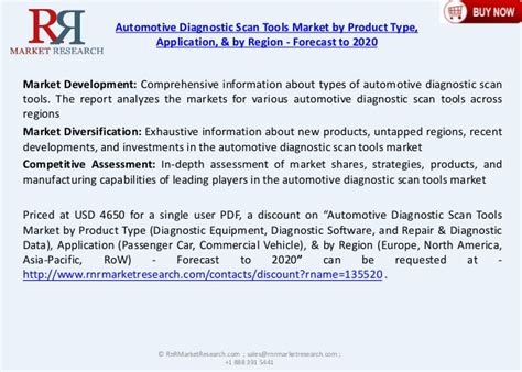 5.6% Cagr For Automotive Diagnostic Scan Tools Market 2020