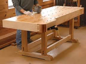 Free Woodworking Plans Workbench  Quick Woodworking Projects