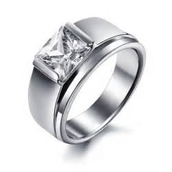 titanium wedding bands with diamonds s titanium rings wedding promise engagement rings trendyrings