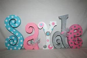Baby name letters nursery decor nursery letters 5 letter for Baby name letters for nursery