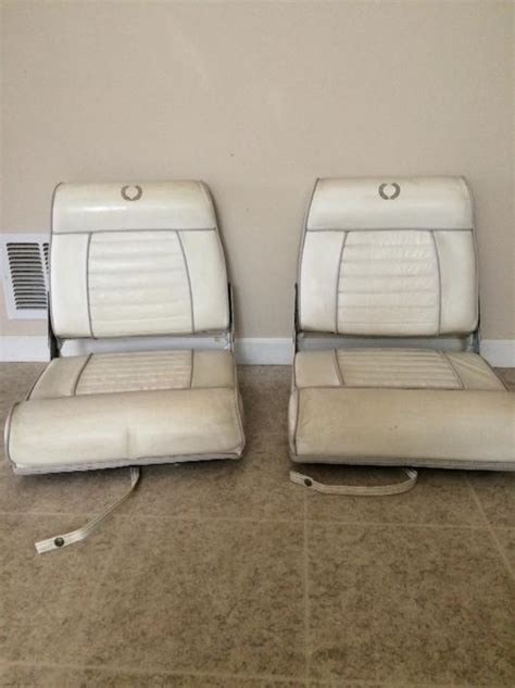 Used Folding Boat Seats by Two Folding Boat Seats Saanich Mobile
