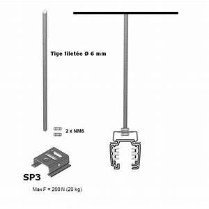 Suspentes Placo Tige Filetée : c3 rail 3 allumages pour projecteurs quip s d 39 adaptateur ~ Dailycaller-alerts.com Idées de Décoration
