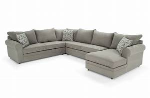 4 piece sectional bob39s furniture living room pinterest With bobs furniture living room sectionals