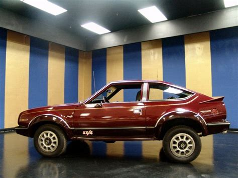 1983 Amc Eagle Dl Sx/4 4x4