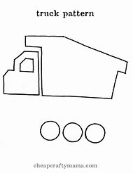 Truck Template Printable Free
