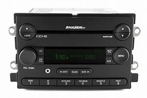 2006 Ford Mustang AM FM 6 CD Player Radio w Aux Input Shaker 500 6R3T-18C815-HE - Refurbished ...