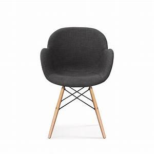 Chaise Tissu Design : chaise design style eames dsw ki oon soft by drawer ~ Teatrodelosmanantiales.com Idées de Décoration