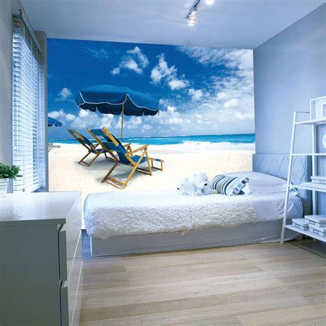 mediterranean style blue sea  sky design  wallpaper