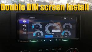 Navigation Screen In Dash Dvd    Double Din    Stereo Install    Installation