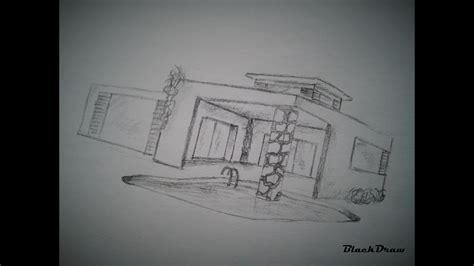 draw  modern house  youtube