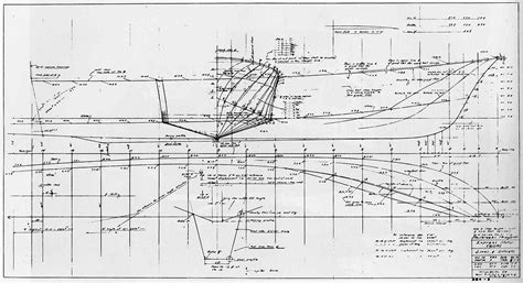 Boat Drawing Lines by Post Class Patrol Boats