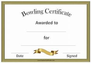 Funny bowling certificate awards quotes for Bowling certificate
