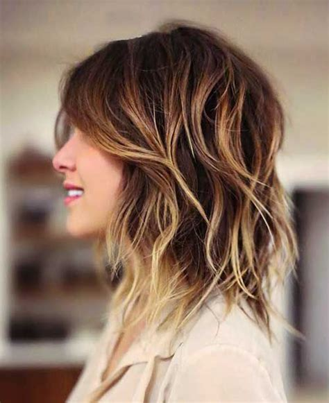25 most superlative medium length layered hairstyles