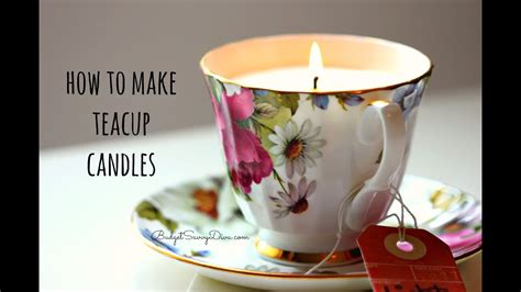 teacup candle youtube