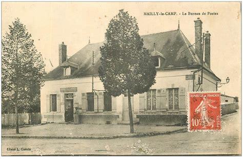 le bureau carte 10 mailly le camp le bureau de postes 1908 défaut