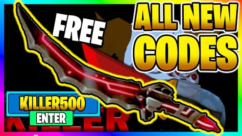 If you're playing roblox, odds are that you'll be redeeming a promo code at some point. ALL *NEW* SECRET WORKING CODES in SURVIVE THE KILLER! *2020* 🥇RANKING UPDATE🔪(Roblox) - YouTube