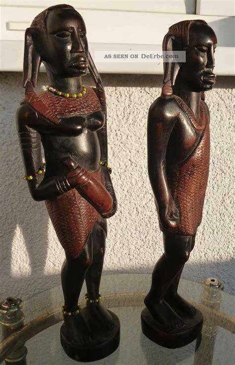 Figuren Aus Holz by Afrikanische Figuren Holz 2 Afrikanische Statuen Figuren