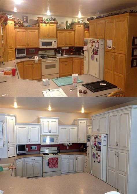 general finishes milk paint kitchen cabinets snow white and van brown kitchen cabinets general