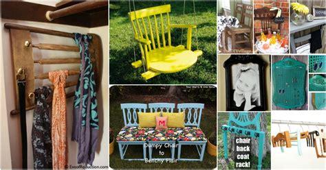 brilliantly creative ways  repurpose  chairs diy