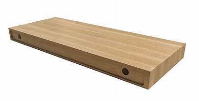 Shelf Floating Bracket Maple Diy Drill Kit