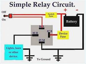 Image Result For 4 Pin Relay Wiring Diagram Horn