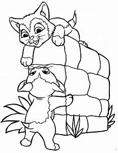 Kitty Cat Coloring Pages Bestofcoloringcom