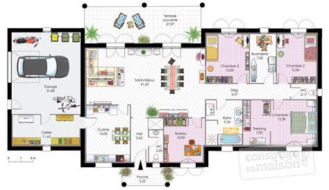 canapé noir angle maison contemporaine 1 dé du plan de maison