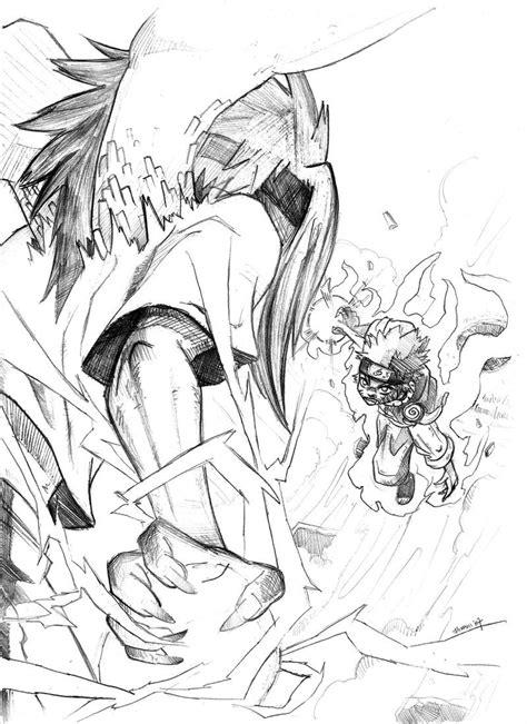 Naruto And Sasuke Drawing at GetDrawings.com   Free for