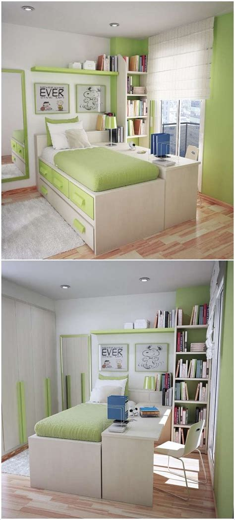 desk ideas for small rooms put study desk along the bed so that it doubles as a