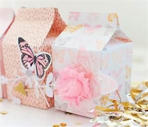 Comment Faire Une Boite En Origami : diy exemple comment customiser une boite origami papillons d coratifs boites d anniversaire ~ Dallasstarsshop.com Idées de Décoration