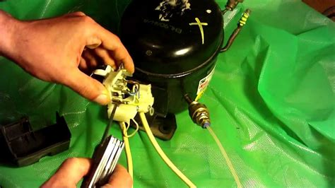 How Wire Fridge Compressor Youtube