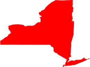 New York Map Silhouette | Free vector silhouettes