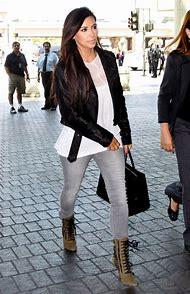 Kim Kardashian Grey Jeans