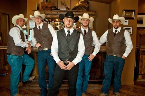 Cowboy Wedding Attire On Pinterest  Cowboy Groomsmen