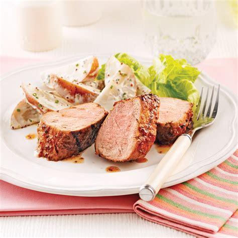 cuisine au cidre filet de porc laqué au cidre recettes cuisine et