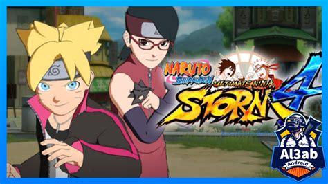 تحميل لعبة ناروتو ستورم Naruto Shippuden Ultimate 4 Psp للاندرويد Ppsspp بحجم صغير من المديا فاير