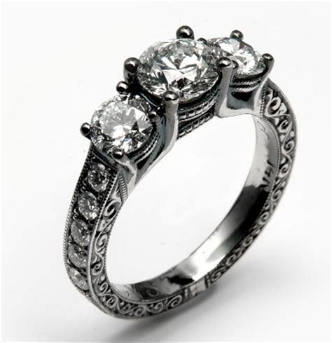 gothic jewelry style for getting married darkly
