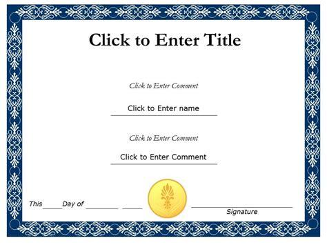 editable certificate template task list templates