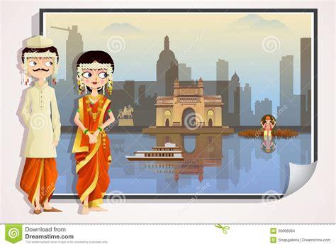 couple clipart marathi pencil   color couple clipart marathi